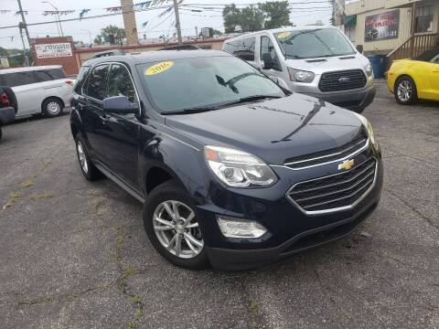 2016 Chevrolet Equinox for sale at Some Auto Sales in Hammond IN