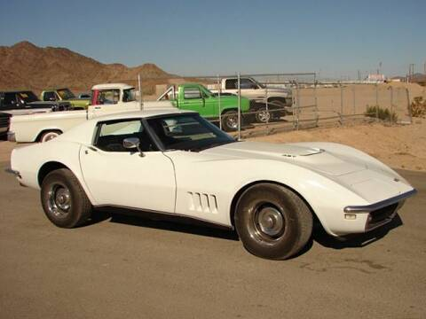 1968 Chevrolet Corvette for sale at Collector Car Channel - Desert Gardens Mobile Homes in Quartzsite AZ