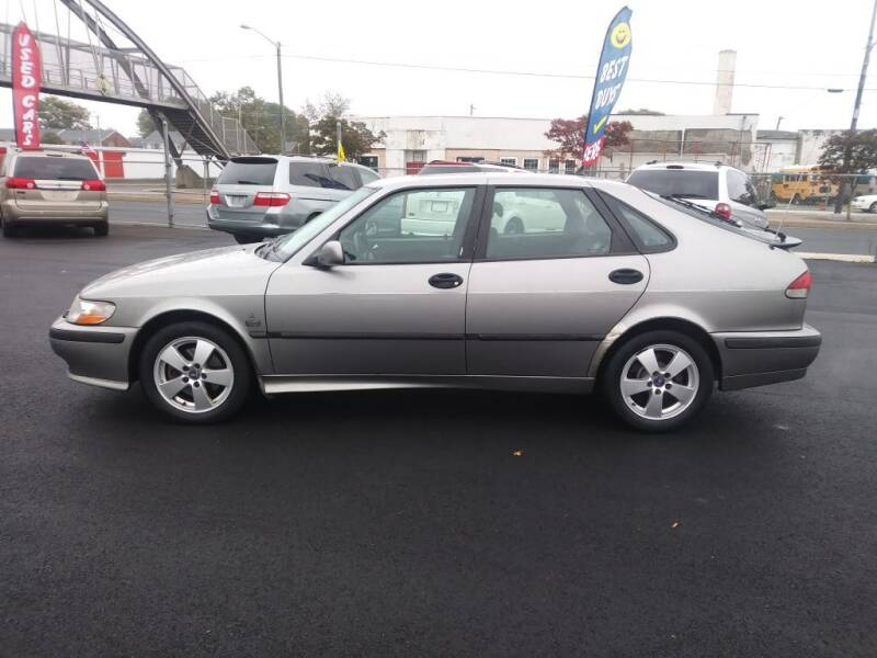 2002 Saab 9-3 for sale at 28TH STREET AUTO SALES AND SERVICE in Wilmington DE