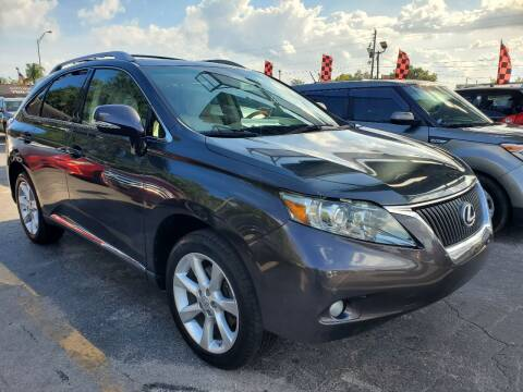 2010 Lexus RX 350 for sale at America Auto Wholesale Inc in Miami FL