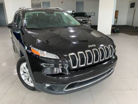 2016 Jeep Cherokee for sale at Auto Mall of Springfield in Springfield IL