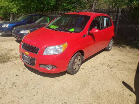 2010 Chevrolet Aveo for sale at Northwoods Auto & Truck Sales in Machesney Park IL