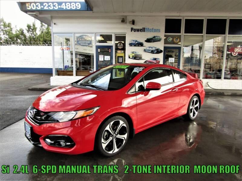 2015 Honda Civic for sale at Powell Motors Inc in Portland OR