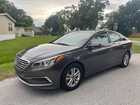 2017 Hyundai Sonata for sale at P J Auto Trading Inc in Orlando FL