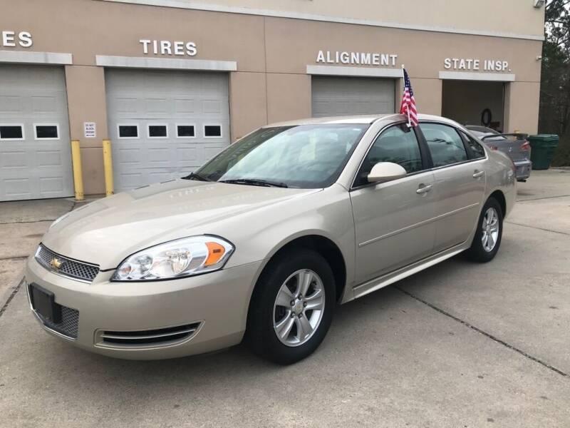 2012 Chevrolet Impala for sale at Ridetime Auto in Suffolk VA