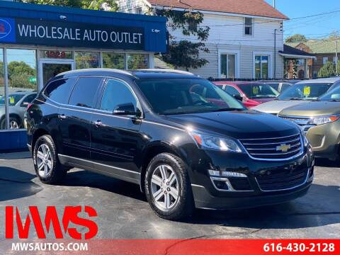 2016 Chevrolet Traverse for sale at MWS Wholesale  Auto Outlet in Grand Rapids MI