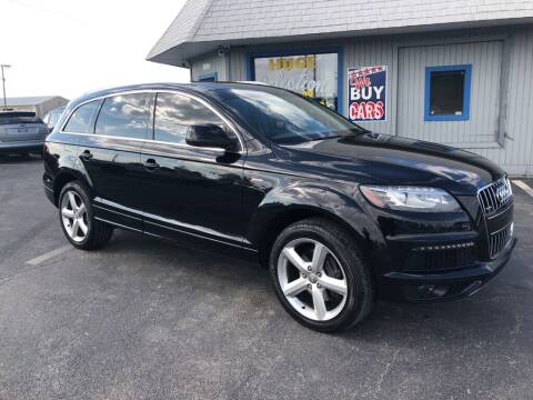 2013 Audi Q7 for sale at Access Auto Wholesale & Leasing in Lowell IN