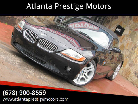 2004 BMW Z4 for sale at Atlanta Prestige Motors in Decatur GA