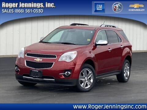 2015 Chevrolet Equinox for sale at ROGER JENNINGS INC in Hillsboro IL