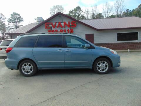 2005 Toyota Sienna for sale at Evans Motors Inc in Little Rock AR