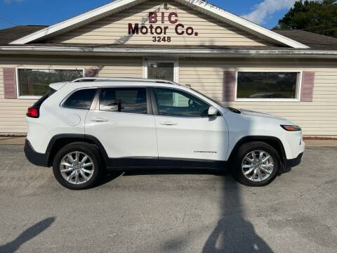2015 Jeep Cherokee for sale at Bic Motors in Jackson MO