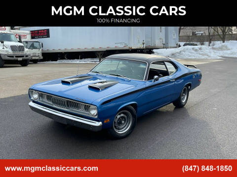 1972 Plymouth Duster for sale at MGM CLASSIC CARS in Addison, IL