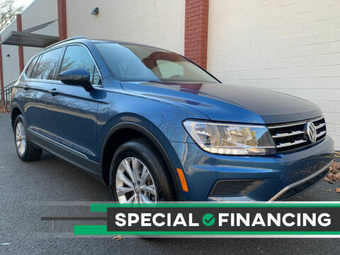 2018 Volkswagen Tiguan for sale at AUTO TRADE CORP in Nanuet NY