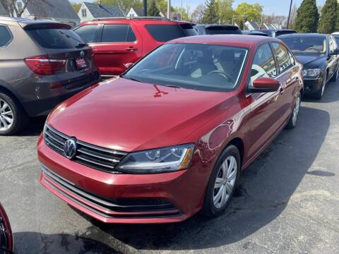 2017 Volkswagen Jetta for sale at CLASSIC MOTOR CARS in West Allis WI