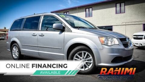 2013 Dodge Grand Caravan for sale at Rahimi Automotive Group in Yuma AZ