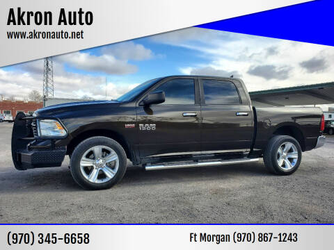 2014 RAM Ram Pickup 1500 for sale at Akron Auto in Akron CO