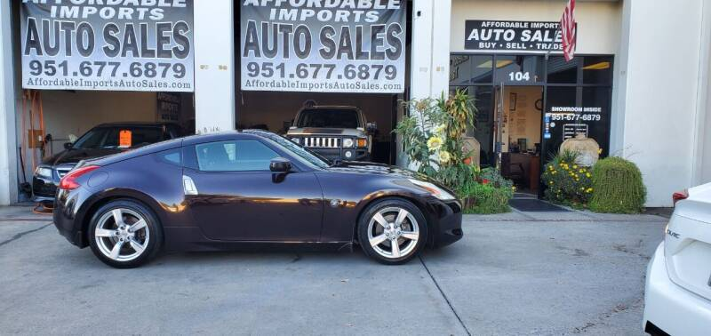 2012 Nissan 370Z for sale at Affordable Imports Auto Sales in Murrieta CA