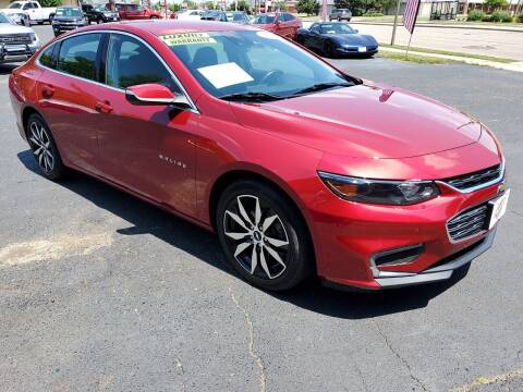 2016 Chevrolet Malibu for sale at Stach Auto in Janesville WI