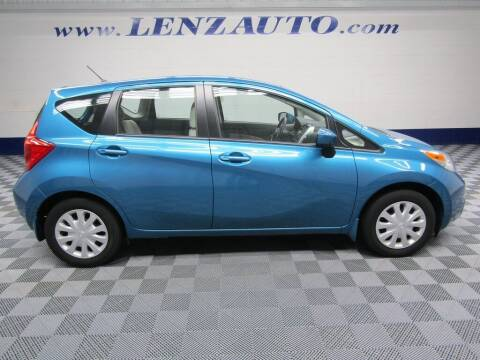 2015 Nissan Versa Note for sale at LENZ TRUCK CENTER in Fond Du Lac WI