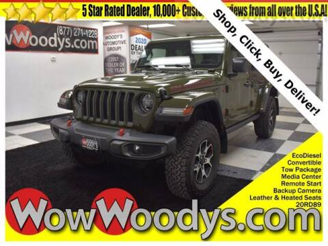 2020 Jeep Wrangler Unlimited for sale at WOODY'S AUTOMOTIVE GROUP in Chillicothe MO