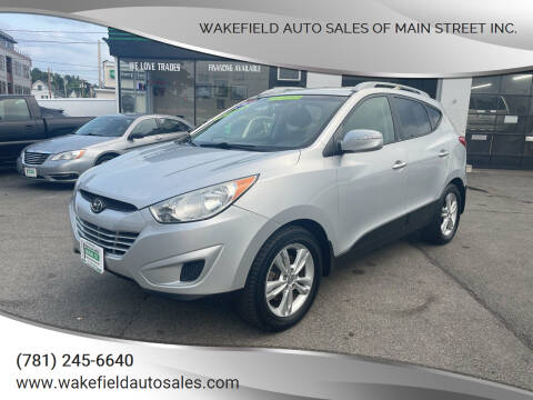 2012 Hyundai Tucson for sale at Wakefield Auto Sales of Main Street Inc. in Wakefield MA