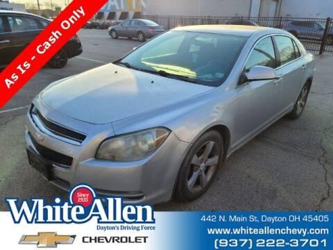 2011 Chevrolet Malibu for sale at WHITE-ALLEN CHEVROLET in Dayton OH