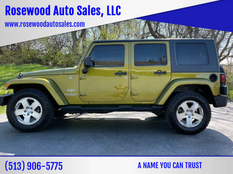 2008 Jeep Wrangler Unlimited for sale at Rosewood Auto Sales, LLC in Hamilton OH