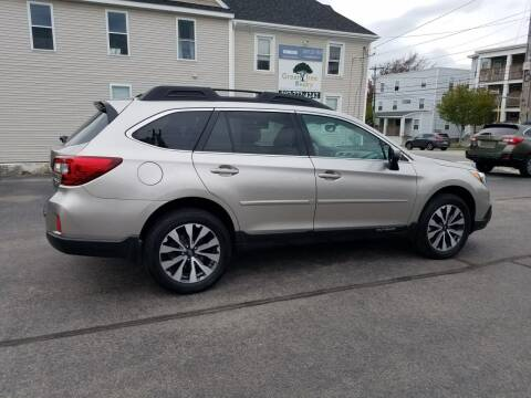 2015 Subaru Outback for sale at CHIP'S SERVICE CENTER in Portland ME