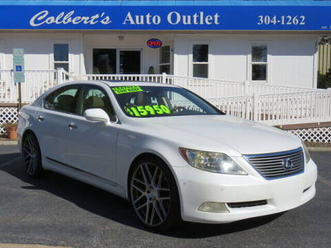 2007 Lexus LS 460 for sale at Colbert's Auto Outlet in Hickory NC