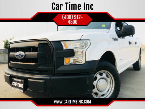 2016 Ford F-150 for sale at Car Time Inc in San Jose CA