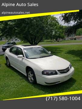 2005 Chevrolet Impala for sale at Alpine Auto Sales in Carlisle PA