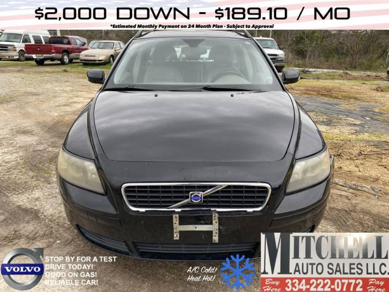 2005 Volvo V50 for sale at Mitchell Auto Sales LLC in Andalusia AL