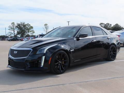 2017 Cadillac CTS-V for sale at Ron Carter  Clear Lake Used Cars in Houston TX