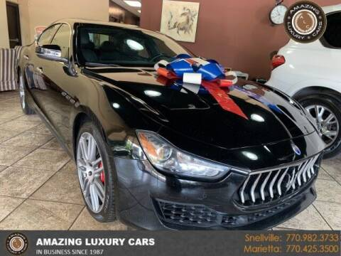 2018 Maserati Ghibli for sale at Amazing Luxury Cars in Snellville GA