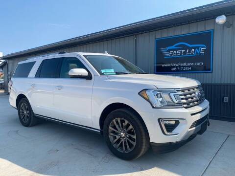 2019 Ford Expedition MAX for sale at FAST LANE AUTOS in Spearfish SD