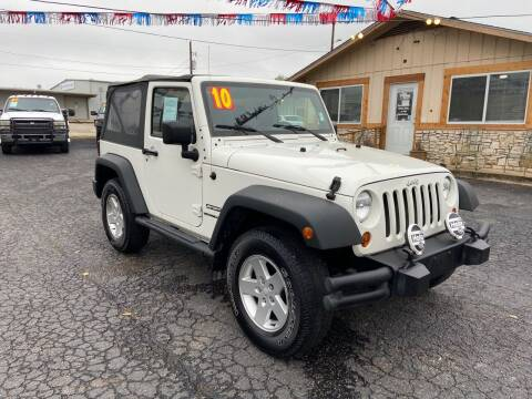 2010 Jeep Wrangler for sale at The Trading Post in San Marcos TX
