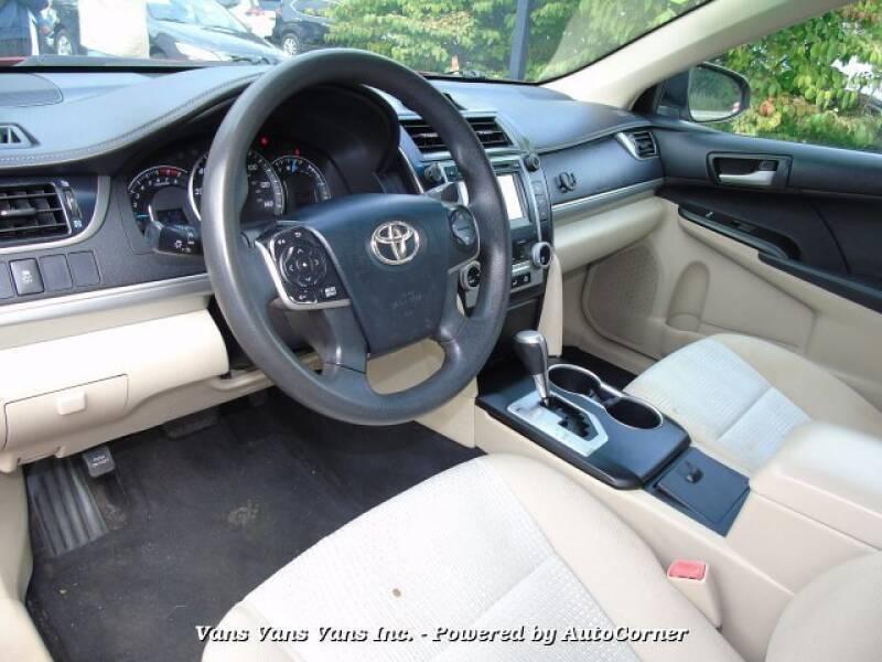2012 Toyota Camry LE sedan - Blauvelt NY