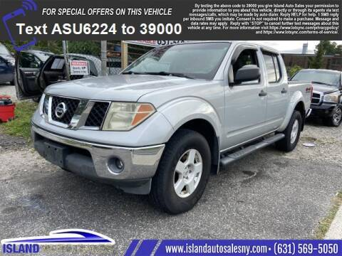 2005 Nissan Frontier for sale at Island Auto Sales in East Patchogue NY