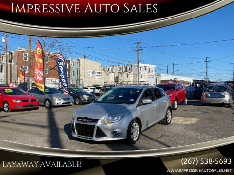 2012 Ford Focus for sale at Impressive Auto Sales in Philadelphia PA