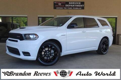 2020 Dodge Durango for sale at Brandon Reeves Auto World in Monroe NC
