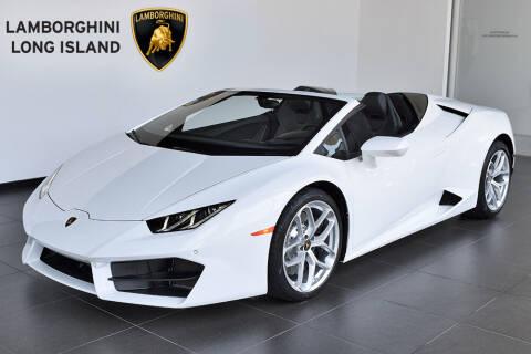 2017 Lamborghini Huracan for sale at Bespoke Motor Group in Jericho NY