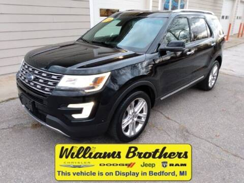 2016 Ford Explorer for sale at Williams Brothers - Pre-Owned Monroe in Monroe MI