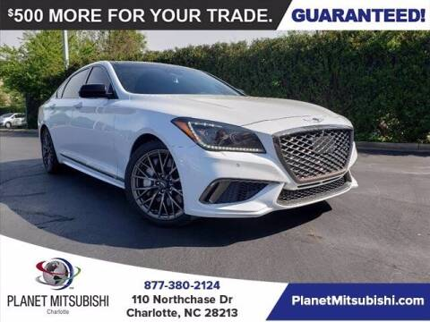 2018 Genesis G80 for sale at Planet Automotive Group in Charlotte NC