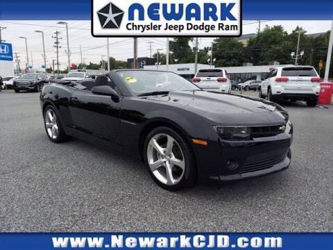 2015 Chevrolet Camaro for sale at NEWARK CHRYSLER JEEP DODGE in Newark DE