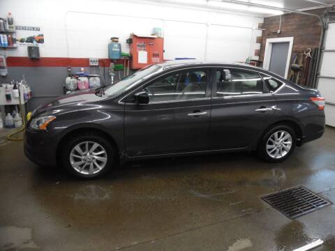 2014 Nissan Sentra for sale at East Barre Auto Sales, LLC in East Barre VT