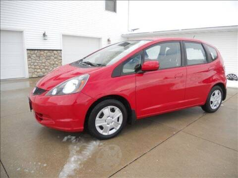 2012 Honda Fit for sale at OLSON AUTO EXCHANGE LLC in Stoughton WI