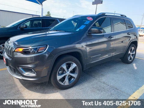 2020 Jeep Cherokee for sale at JOHN HOLT AUTO GROUP, INC. in Chickasha OK