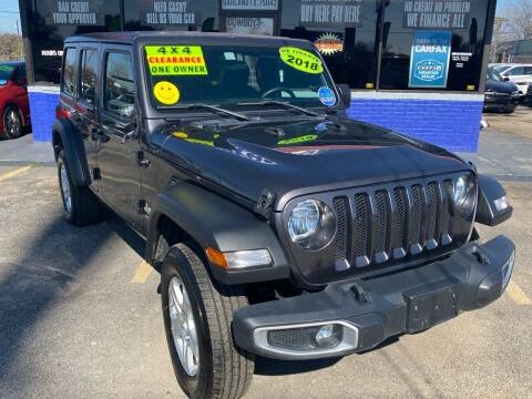 2018 Jeep Wrangler Unlimited for sale at Cow Boys Auto Sales LLC in Garland TX