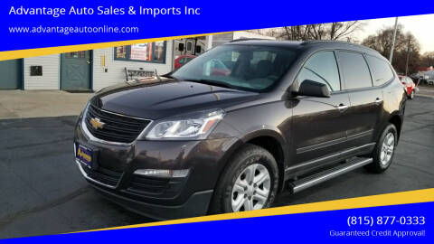 2016 Chevrolet Traverse for sale at Advantage Auto Sales & Imports Inc in Loves Park IL