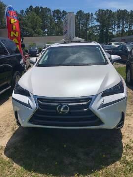 2016 Lexus NX 200t for sale at Gralin Hampton Auto Sales in Summerville SC